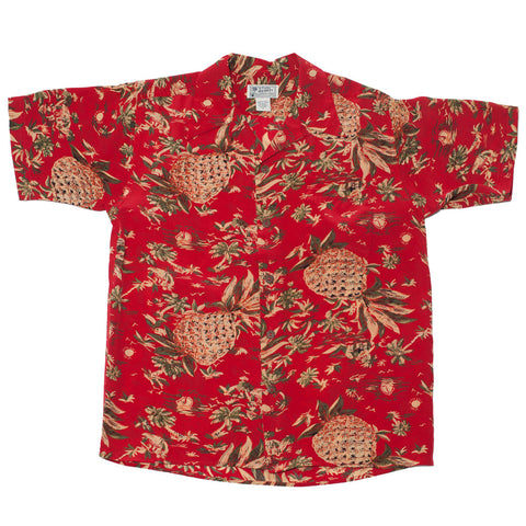 Men's Pineapple Hut Hawaiian Shirt