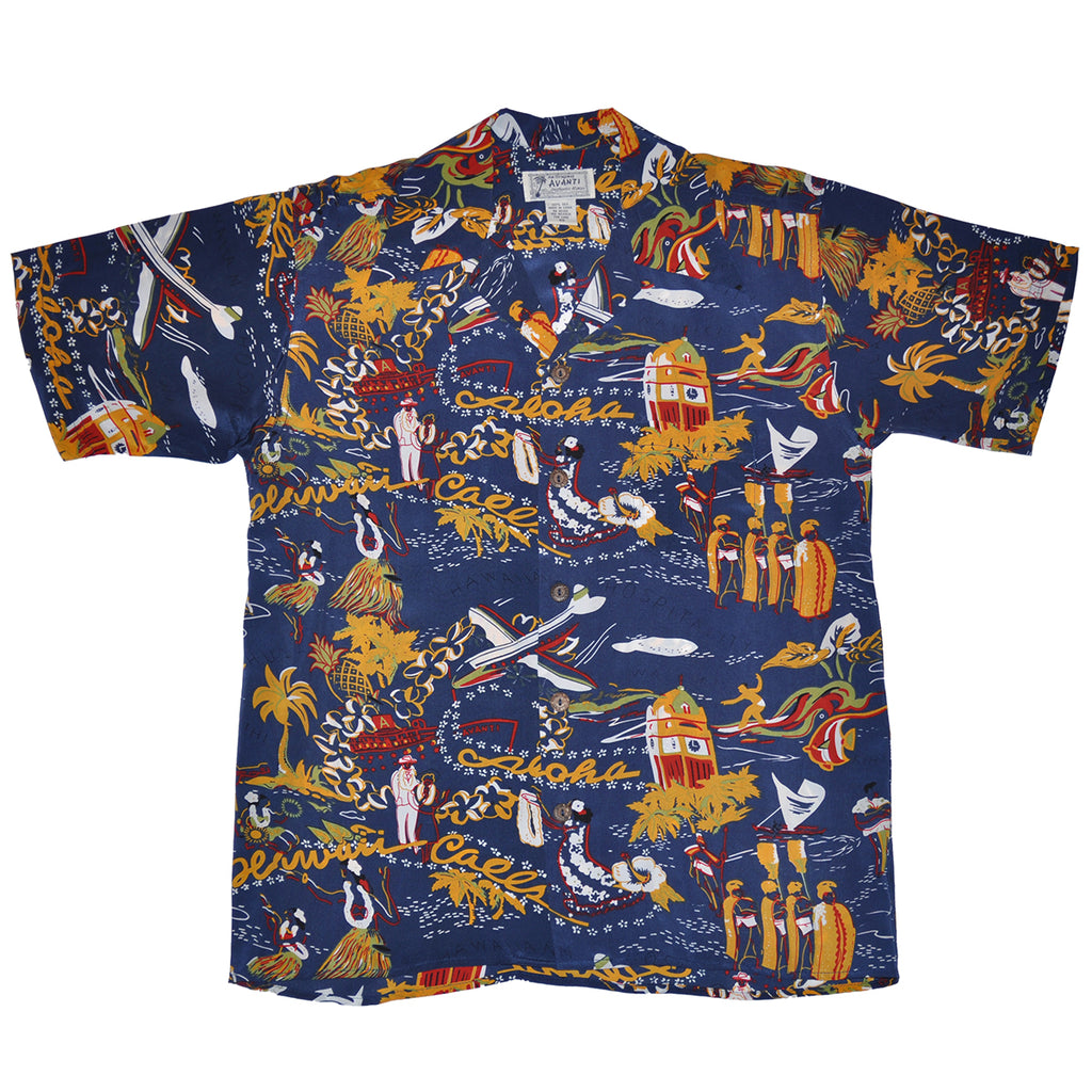 Men's Hawaii Calls Hawaiian Shirt