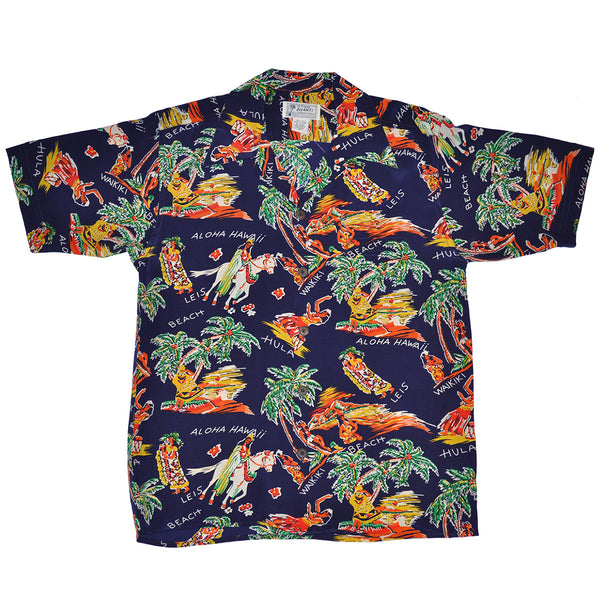 Men's Pa'u Riders Hawaiian Shirt
