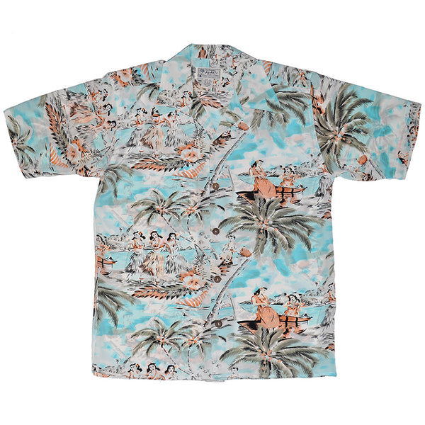 Junior Beachside Hawaiian Shirt