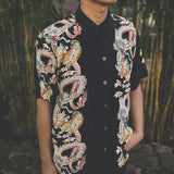 Men's Dragon & Tiger Hawaiian Shirt