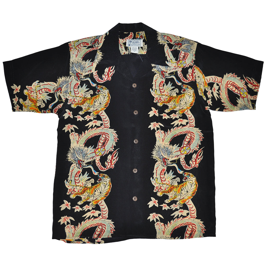 Junior Dragon & Tiger Hawaiian Shirt