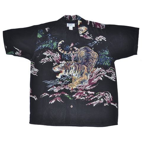 Men's One Tiger Hawaiian Shirt