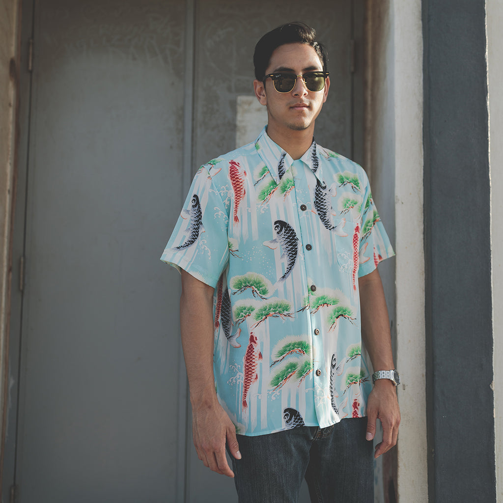 Men's Upstream Hawaiian Shirt
