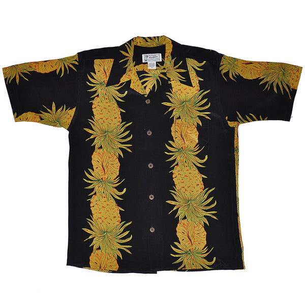 Men's Pineapple Cross Hawaiian Shirt