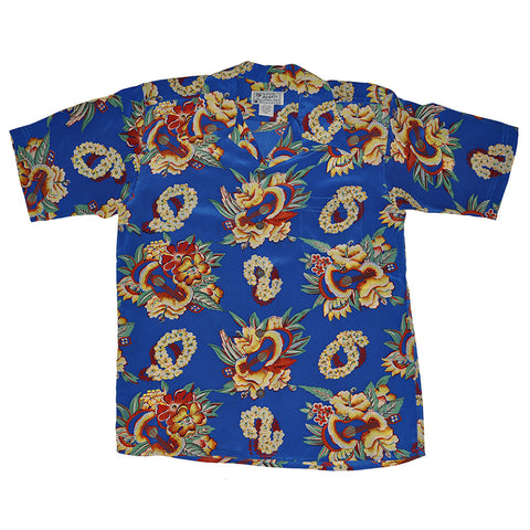 Men's Ukulele Lei Hawaiian Shirt