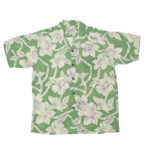 Men's Bamboo Flowers Hawaiian Shirt