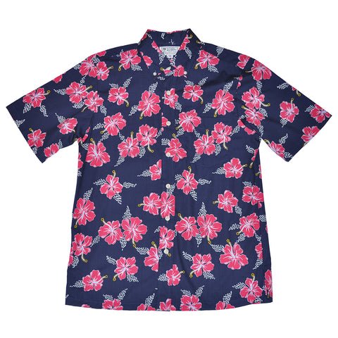 Men's Hibiscus Trails Aloha Shirt