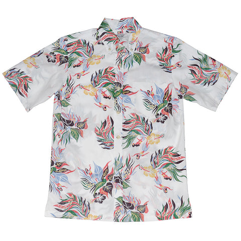 Men's Hula Bloom Aloha Shirt