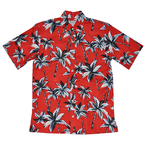 Men's Electric Palms Aloha Shirt