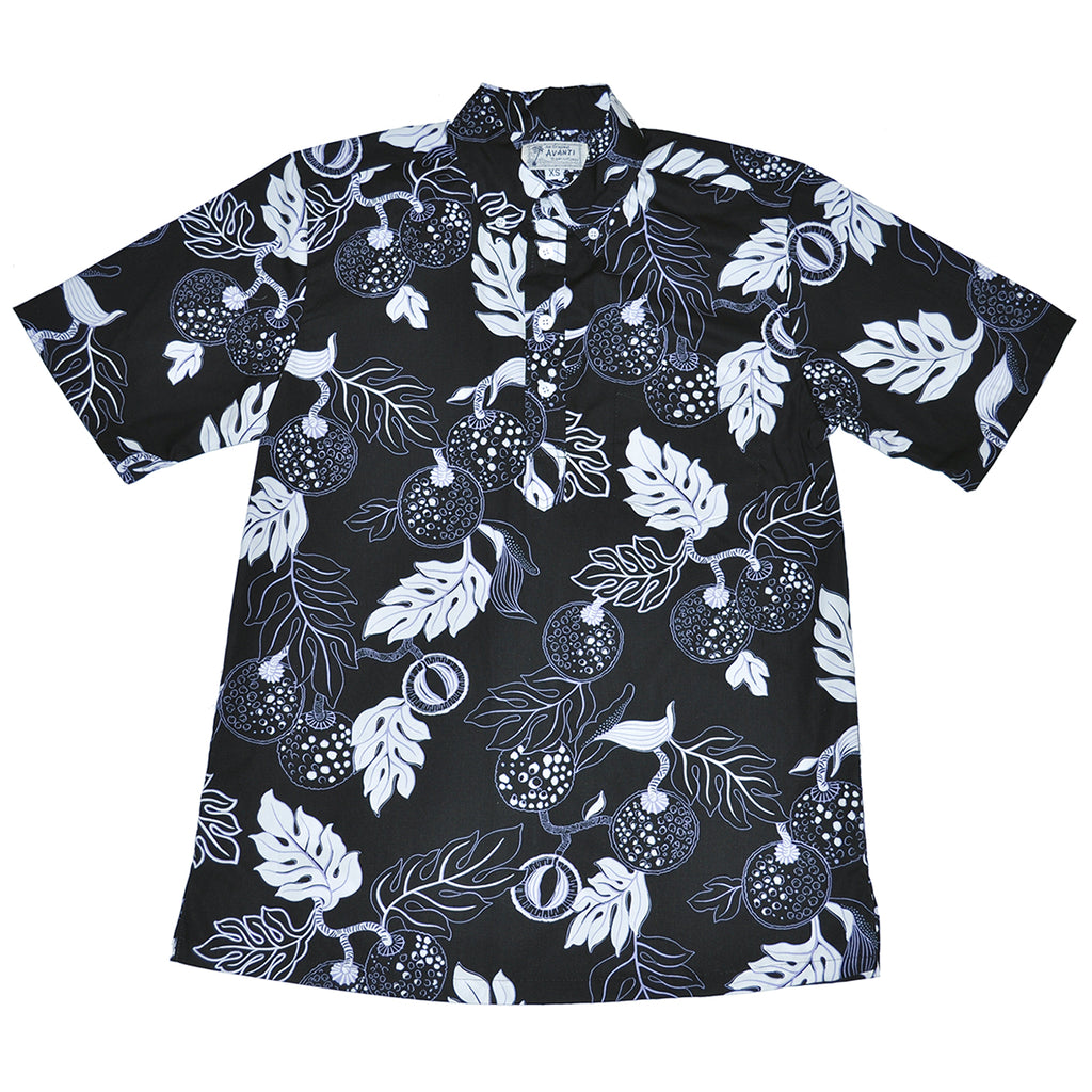 Men's Fruit of Life Pullover Aloha Shirt