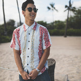 Men's Lei Panel Hawaiian Shirt