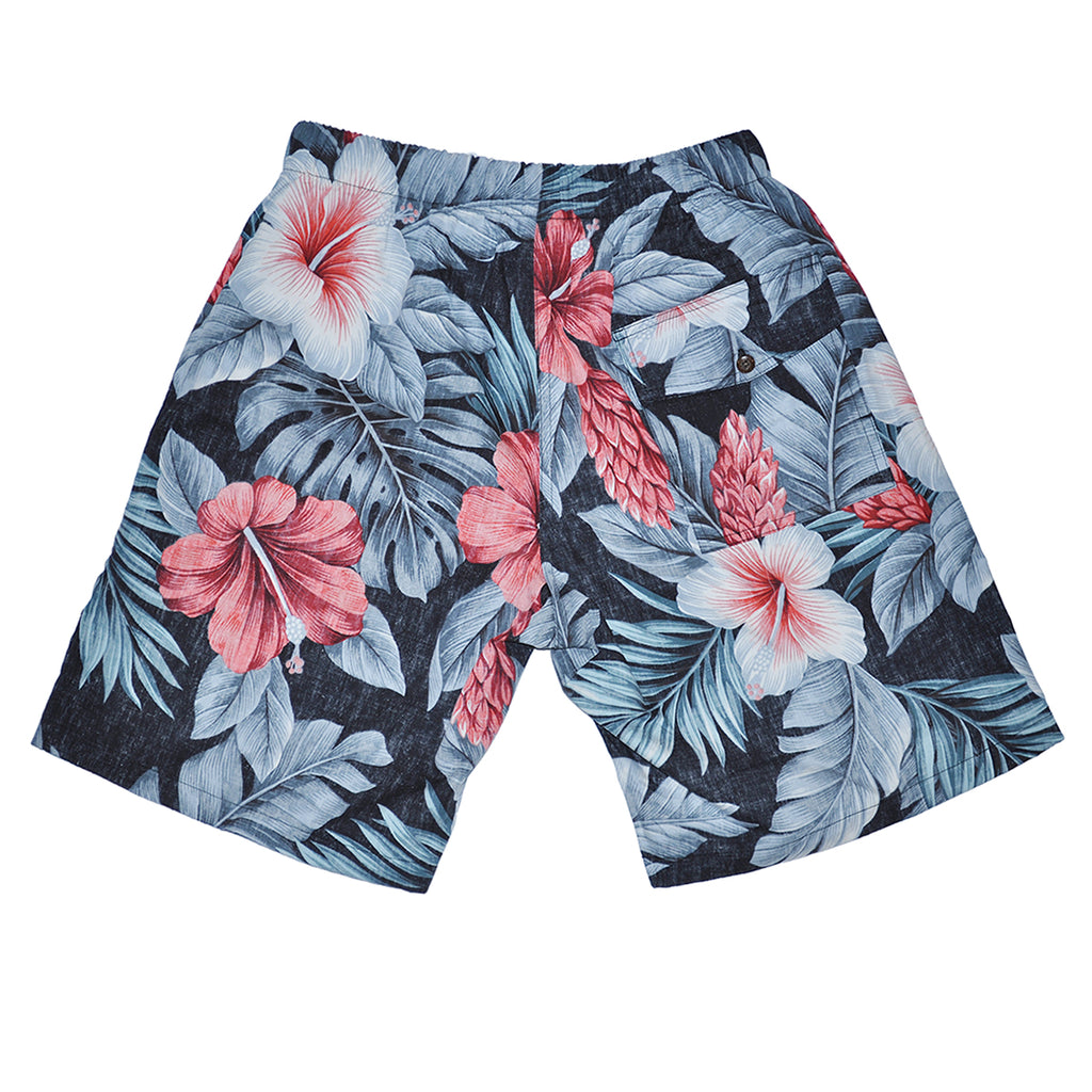 Avanti Botanical Isle Walk Shorts - Back