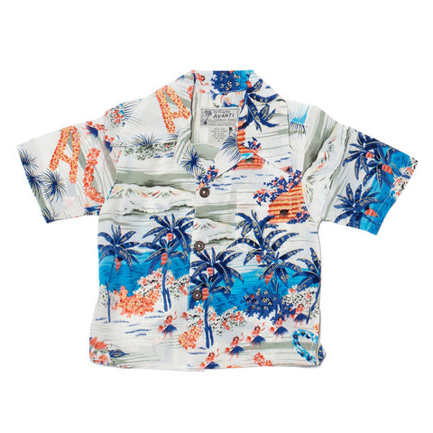 Boy's Aloha Hawaii Hawaiian Shirt