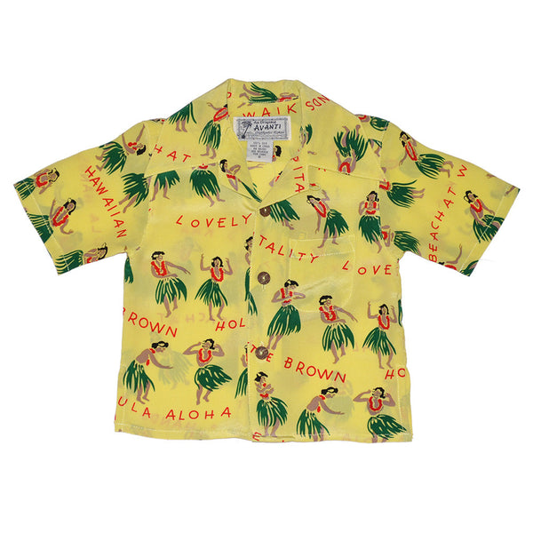 Boy's Hula Hands Hawaiian Shirt