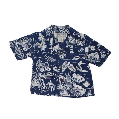 Boy's King & Islands Hawaiian Shirt