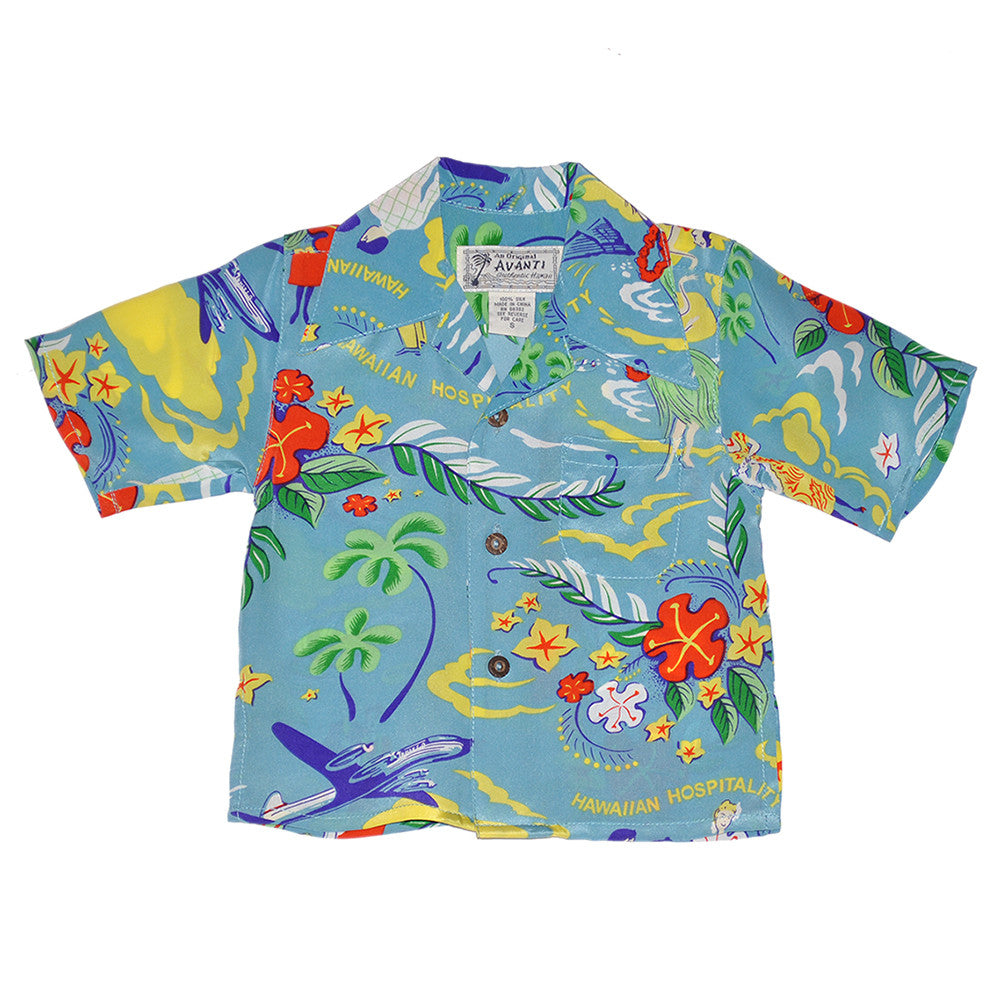 Boy's Hawaiian Hospitality Hawaiian Shirt