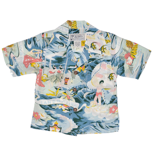 Boy's Land of Aloha Hawaiian Shirt
