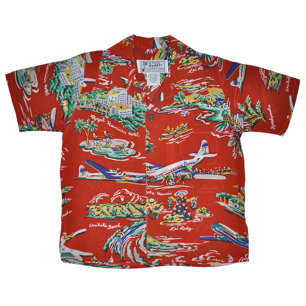 Boy's Airways Hawaiian Shirt