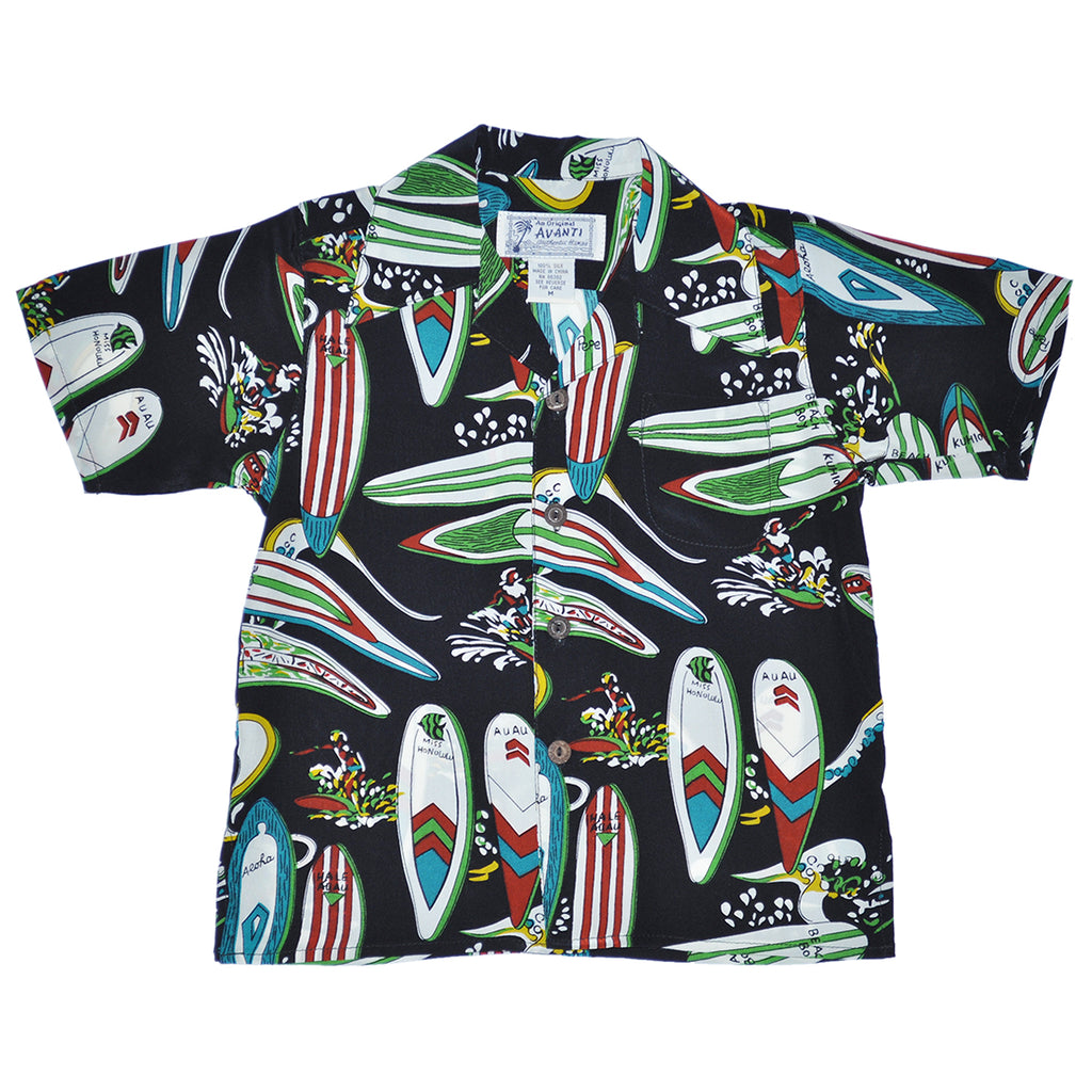 Boy's Beach Boy Hawaiian Shirt