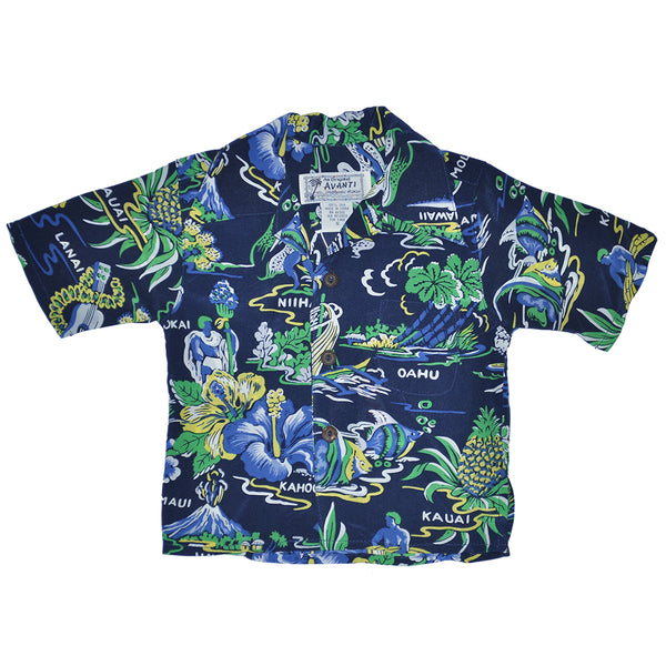 Boy's Neighbor Islands Hawaiian Shirt