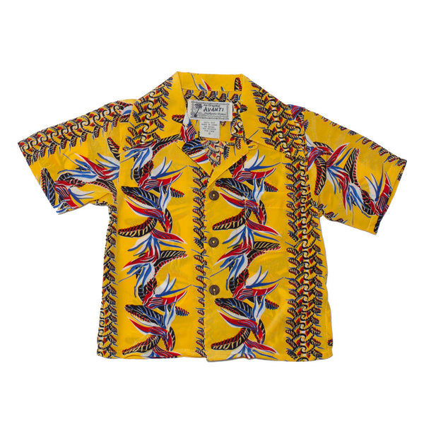 Boy's Bird of Paradise Hawaiian Shirt