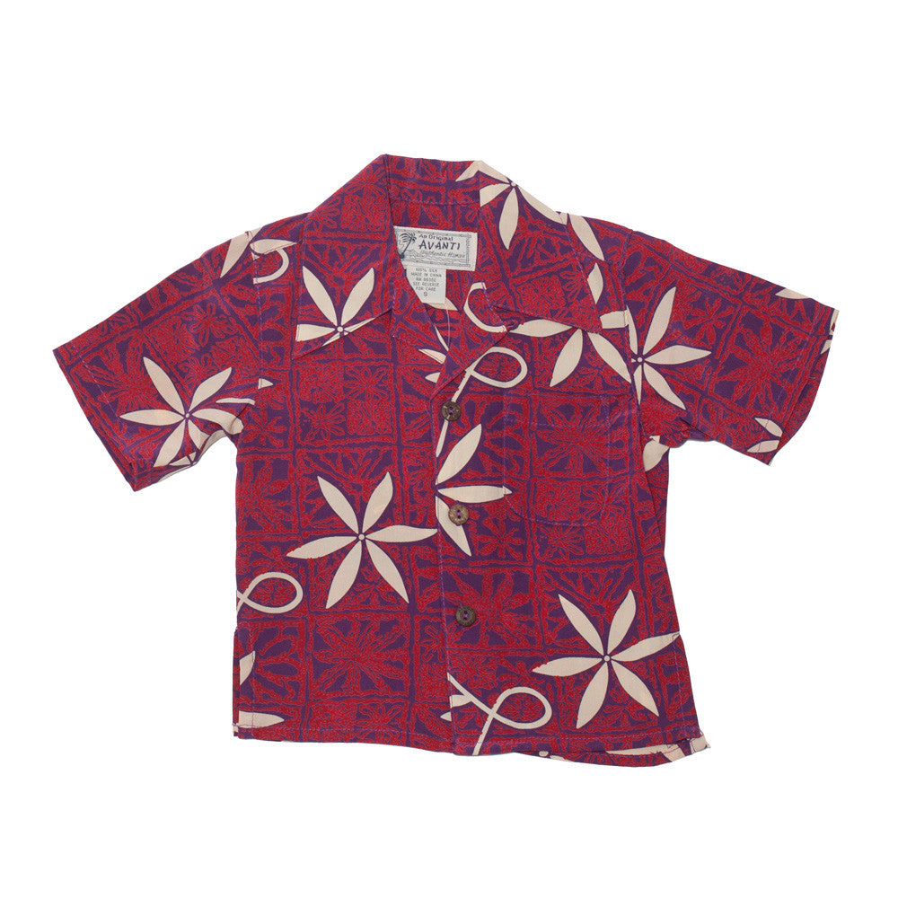 Boy's Blue Hawaii Hawaiian Shirt