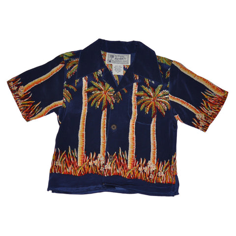 Boy's Palms Hawaiian Shirt