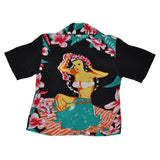 Boy's Hawaiian Maiden Hawaiian Shirt - Back