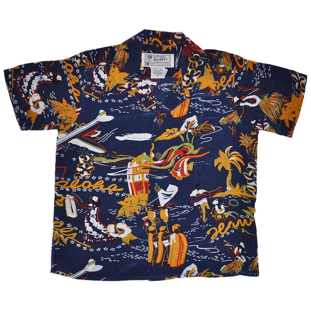 Boy's Hawaii Calls Hawaiian Shirt