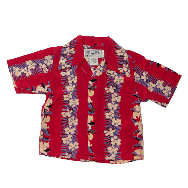 Boy's Orchid Hawaiian Shirt