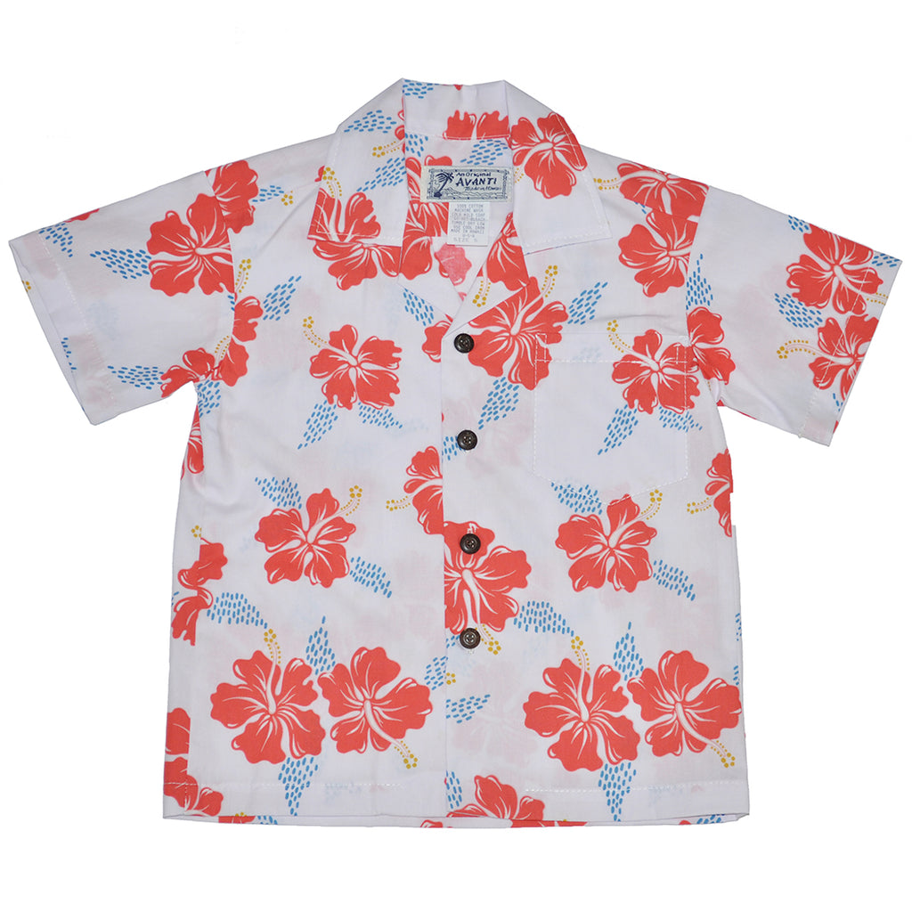 Boy's Hibiscus Trails Aloha Shirt