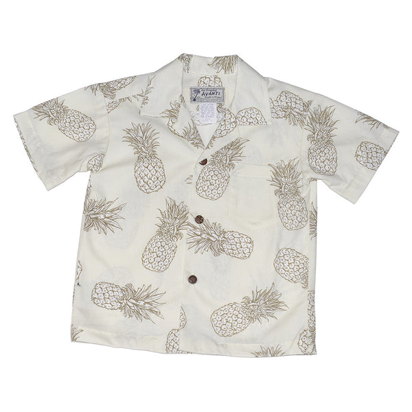Boy's Pineapple Express Aloha Shirt
