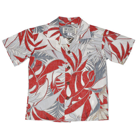Boy's Jungle Aloha Shirt