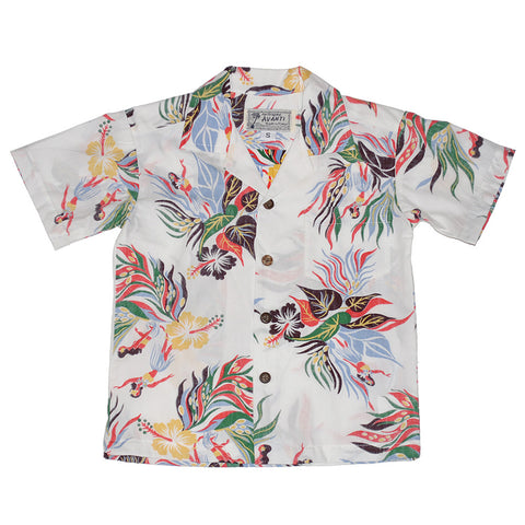Boy's Hula Bloom Aloha Shirt