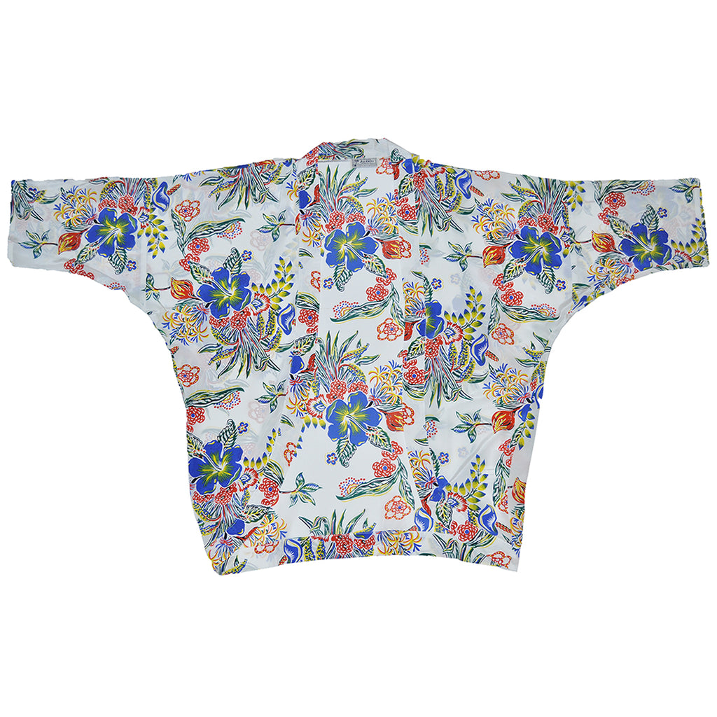 Women's Floral Groove Kimono Cover-Up