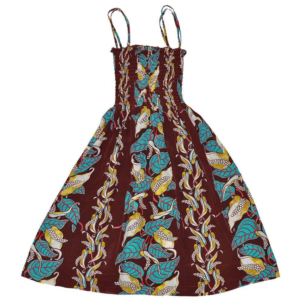 Women's Anthurium Garden Sun Dress