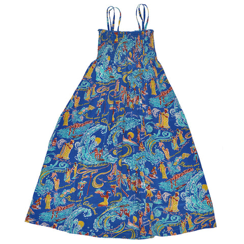 Women's Waikiki Surf Sun Dress