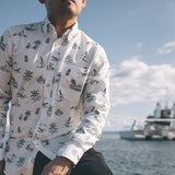 Men's Kaimana Long Sleeve Aloha Shirt