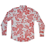 Men's Pareau Long Sleeve Aloha Shirt