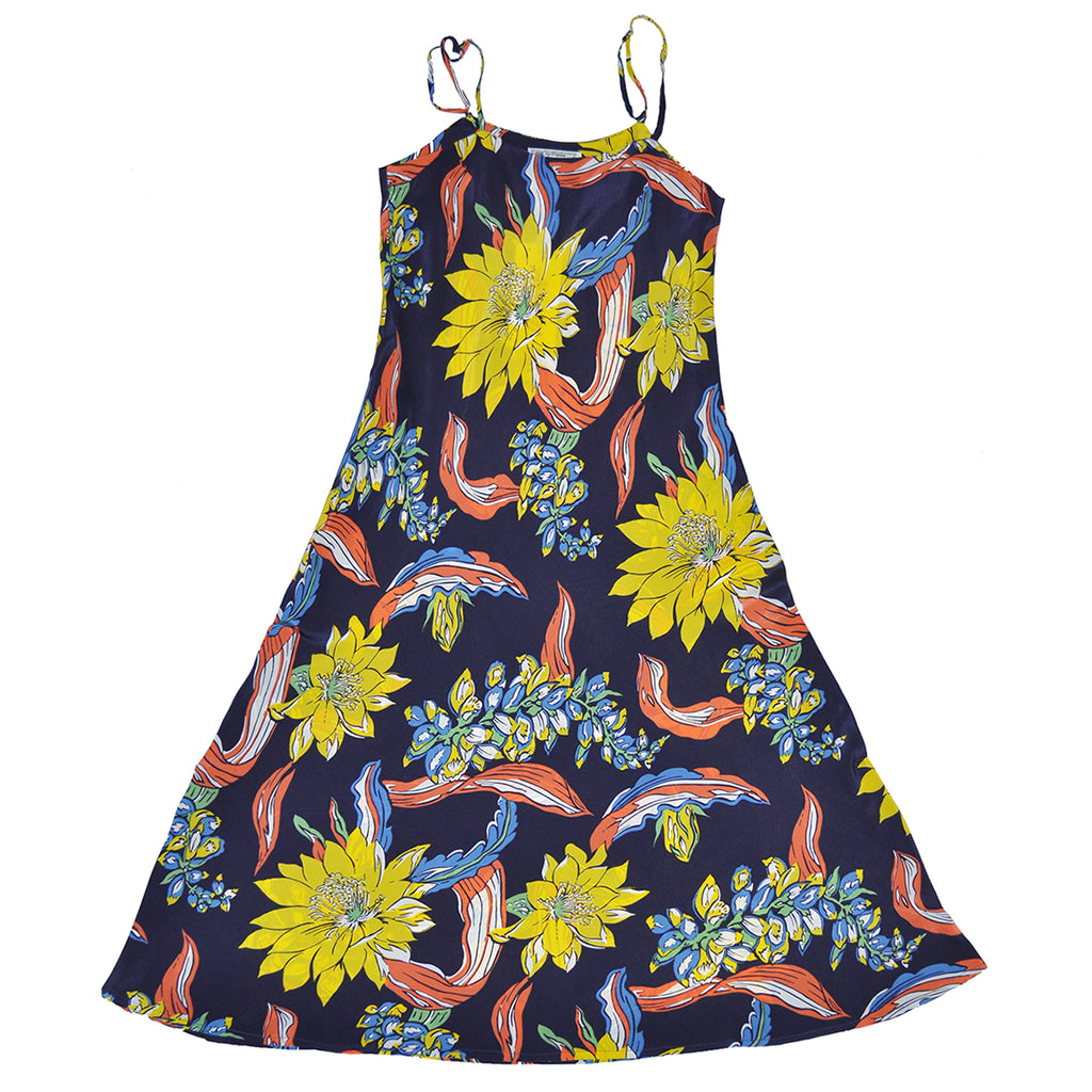 Women's Big Floral Slip Dress