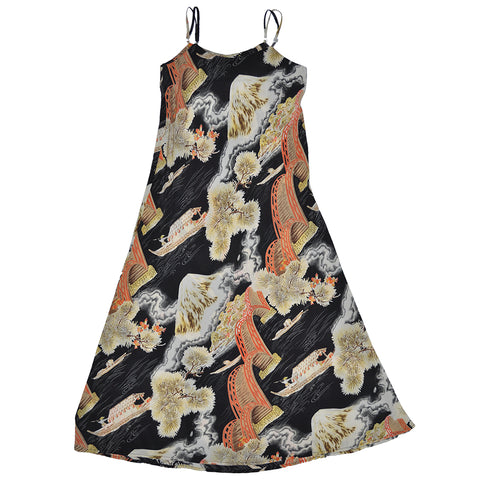Women's Fuji Bridge Slip Dress