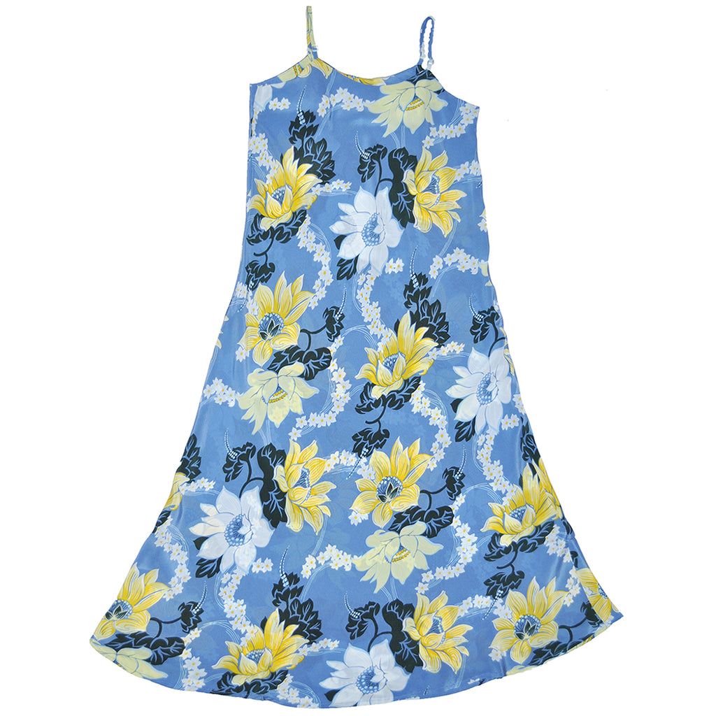 Women's Keanu Slip Dress - Blue