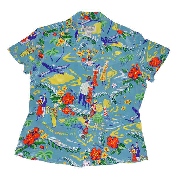 Women's Hawaiian Hospitality Hawaiian Shirt