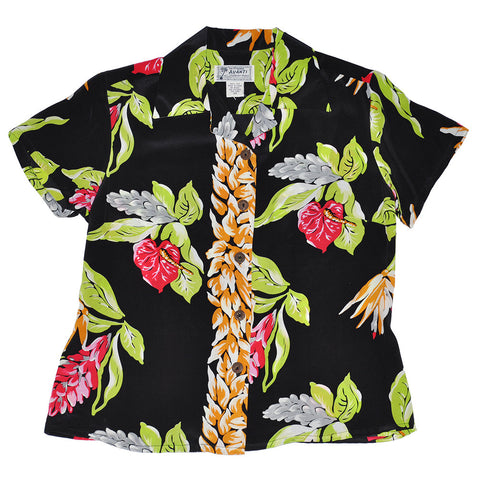 Women's Anthurium Hawaiian Shirt