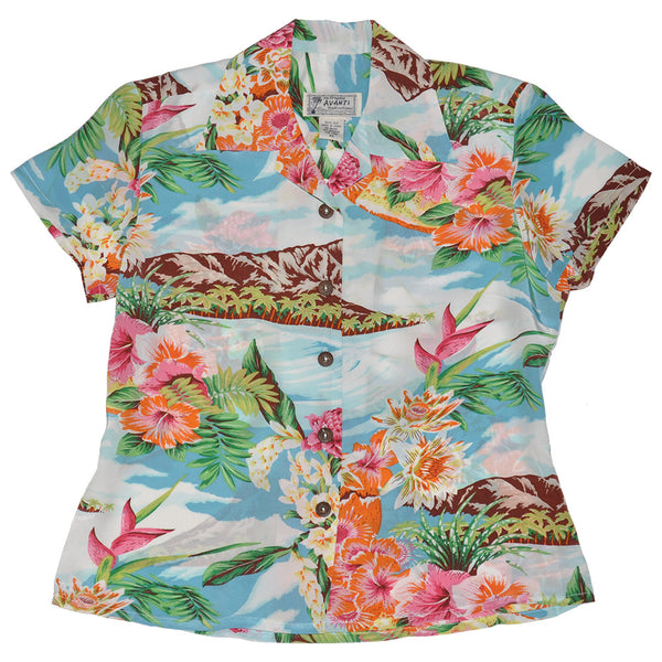 Women's Le'ahi Hawaiian Shirt