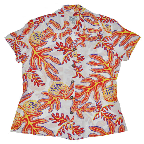 Women's Ulu Fruit Hawaiian Shirt