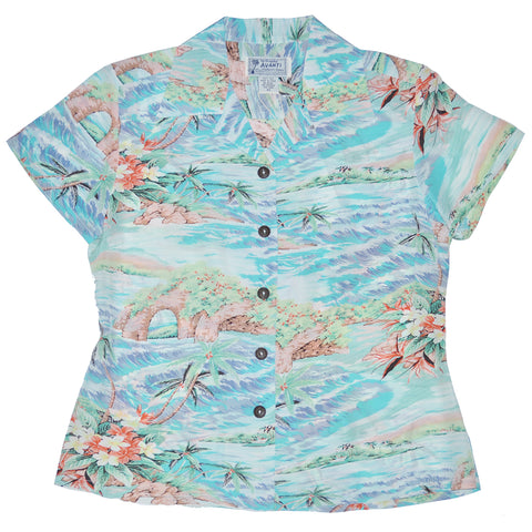 Women's Oasis Hawaiian Shirt