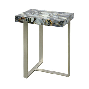 Oyster Stone Accent Table