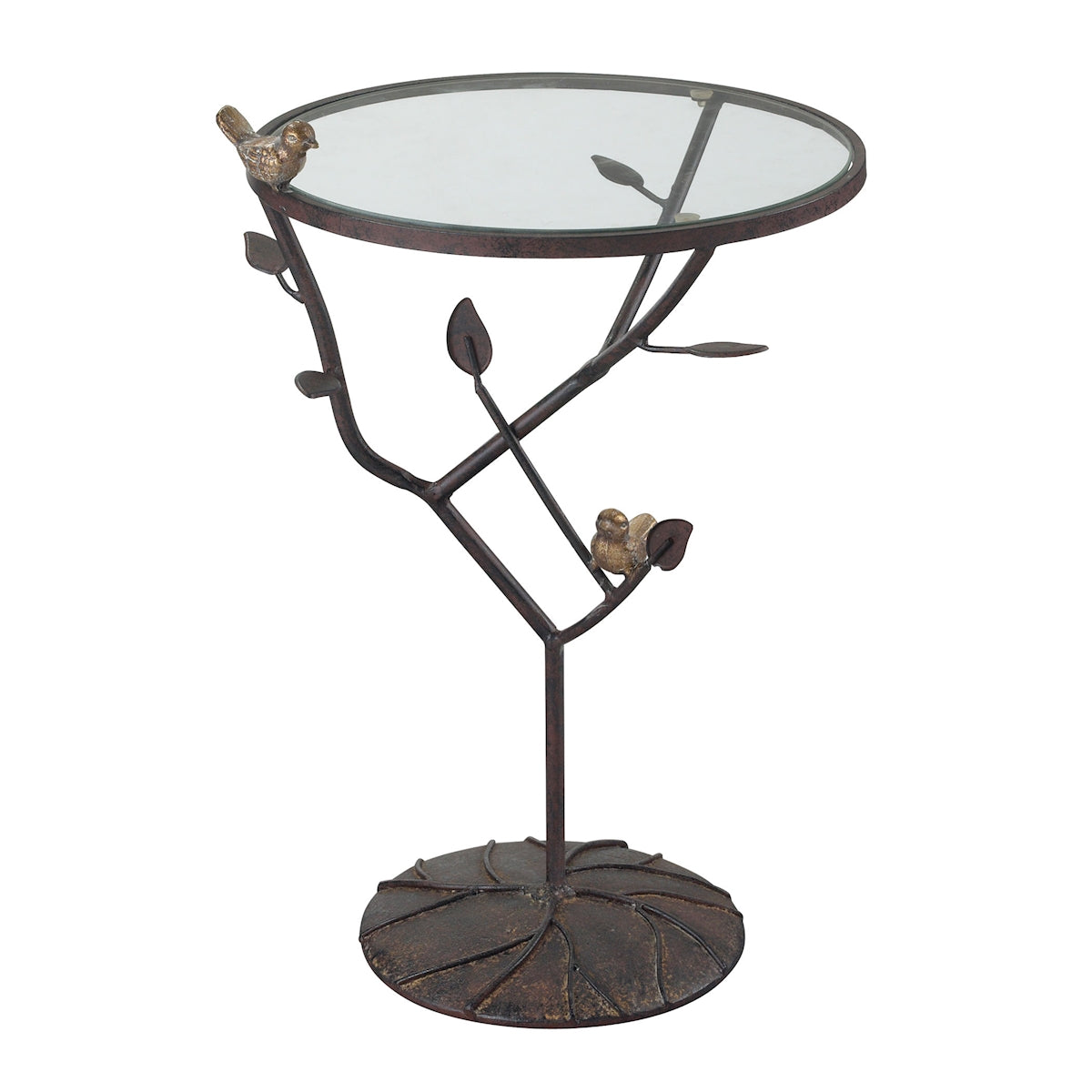 Birds on a Branch Accent Table